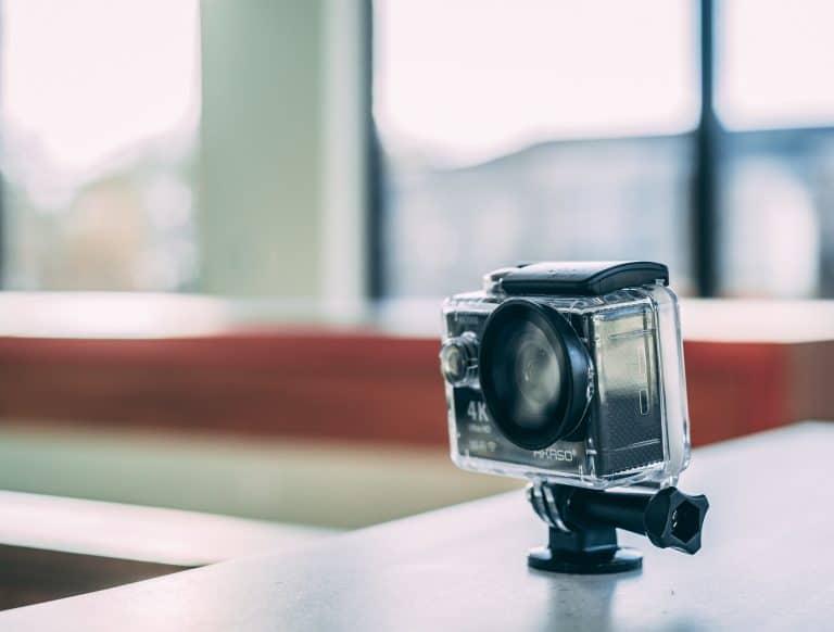 GoPro orientabile