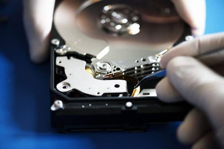 Riparazione hard disk