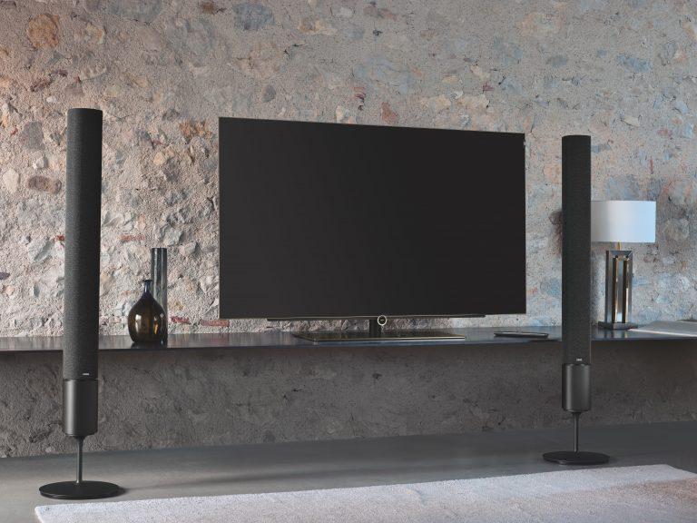 Televisore con casse esterne