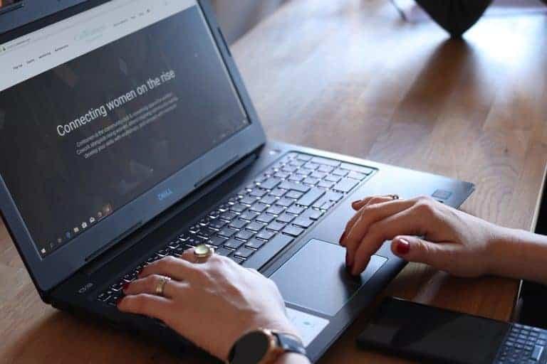 Un PC portatile