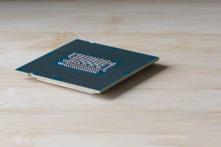 Vista di un processore laterale