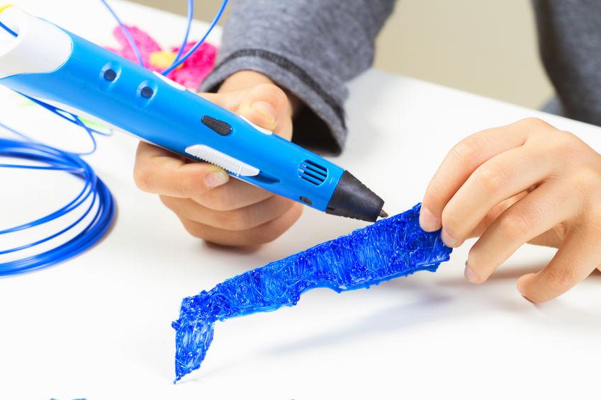 Penna 3D in funzione
