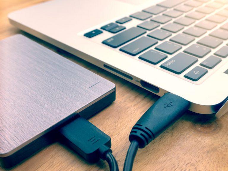 Hard disk collegato al PC