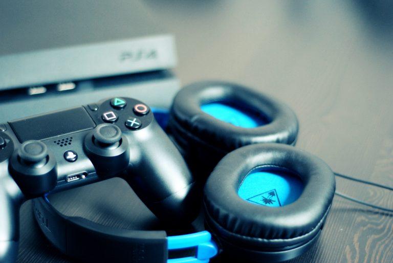 Cuffie con joypad PS4