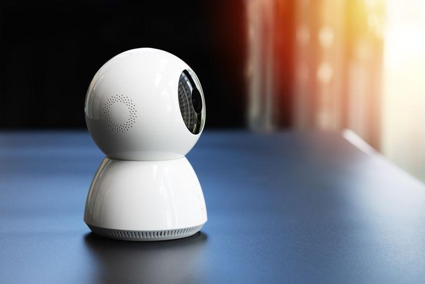 Piccola telecamera di sorveglianza