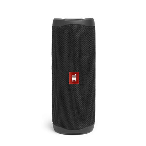 JBL Flip 5 Speaker Bluetooth Portatile, Cassa Altoparlante Bluetooth Impermeabile IPX7, Compatibile con JBL PartyBoost, fino a 12 Ore di Autonomia, Nero