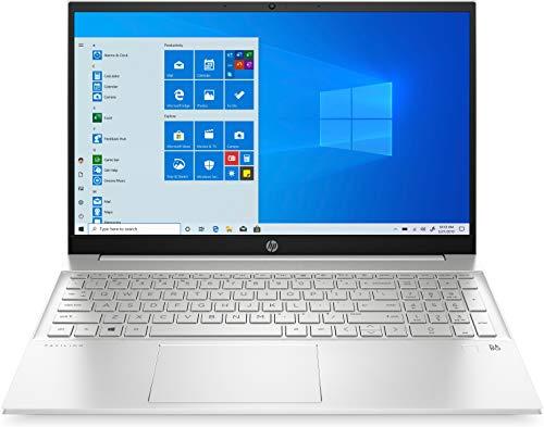 HP - PC Pavilion 15-eg0001sl Notebook, Intel Core i7 1165G7, RAM 16 GB, SSD 512 GB, Grafica Intel Iris, Windows 10 Home, Schermo 15.6