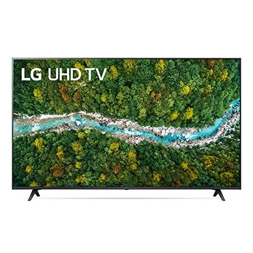 "LG 55UP77006LB Smart TV LED 4K Ultra HD 55"" 2021 con Processore Quad Core 4K, Wi-Fi, webOS 6.0, FILMMAKER MODE, Game Optimizer, Google Assistant e Alexa Integrati, Telecomando Puntatore"