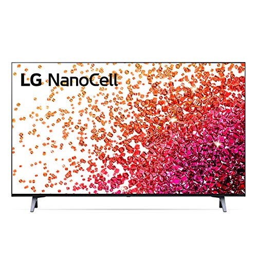 "LG NanoCell 43NANO756PA Smart TV LED 4K Ultra HD 43"" 2021 con Processore Quad Core 4K, Wi-Fi, webOS 6.0, FILMAKER MODE, Game Optimizer, Google Assistant e Alexa Integrati, Telecomando Puntatore"