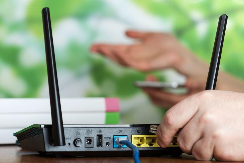 router conectado