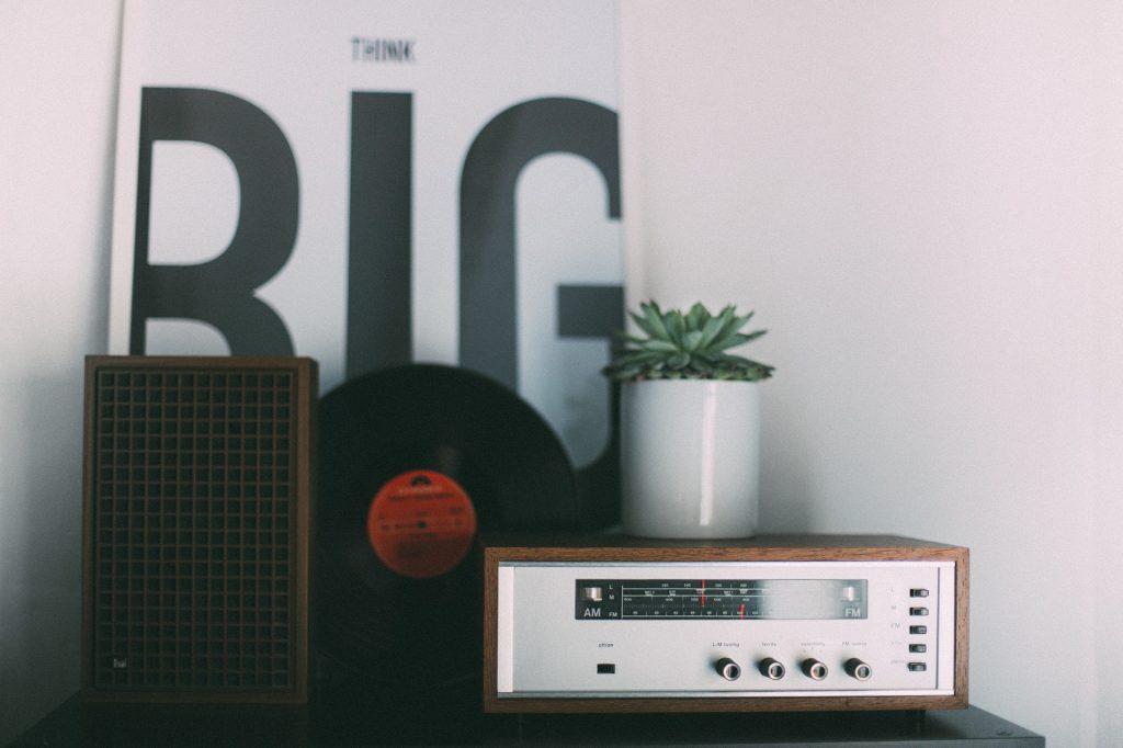 radio en la sala