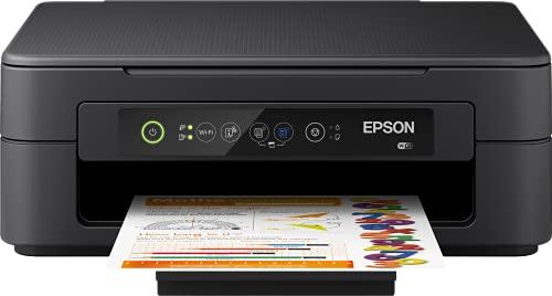 Epson Expression Home XP-2100 Dispositivo multifunzione a getto d'inchiostro 3 in 1, stampante (fotocopiatrice, WiFi, cartucce singole, 4 colori, A4) Compatibile con Amazon Dash Replenishment, Nero