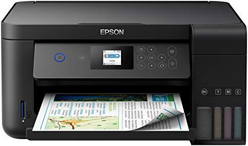 Epson EcoTank ET-2750 Stampante Inkjet 3-in-1, Stampa Fronte/Retro, Copia e Scansione, Connettività Wi-Fi e App, LCD da 3.7 cm, Colore Nero