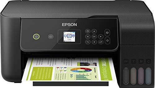 Epson EcoTank ET-2720 Stampante Inkjet 3-in-1, Display LCD 3.7 cm, Stampa da Mobile, Riduci i Costi del 90%, Flaconi di Inchiostro ad Alto Rendimento