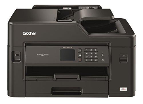 Brother MFCJ5330DW Stampante Multifunzione Inkjet a Colori, Stampa Formato A3, no Fronte/Retro Automatico, Stampa Formato A4 Fronte/Retro Automatico, Cassetto Carta Singolo, Rete Cablata, Wi-Fi