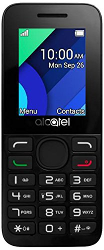 Alcatel 1054d 4,57cm (1,8pollici) Handy 10.54(Dual Sim, Bluetooth, Torcia, 800mAh batteria, Radio FM, lettore di schede MicroSD) Bianco