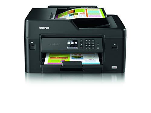 Brother MFCJ6530DW Stampante Multifunzione Inkjet a Colori fino al Formato A3, Cassetto Carta Singolo, Rete Cablata, Wi-Fi, Stampa Fronte/Retro Automatica