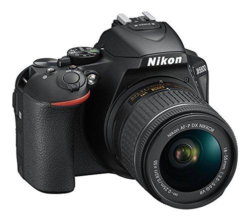Nikon D5600 + AF-P DX NIKKOR 18-55 mm f/3.5-5.6 G VR, Reflex Digitale, 24.2 Megapixel, LCD Touch ad Angolo Variabile 3
