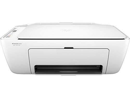 HP Deskjet 2620 V1N01B Stampante Multifunzione a Getto di Inchiostro, Stampa, Scannerizza, Fotocopia, Wi-Fi e Wi-Fi Direct, 6 Mesi di Instant Ink Inclusi nel Prezzo, Bianco