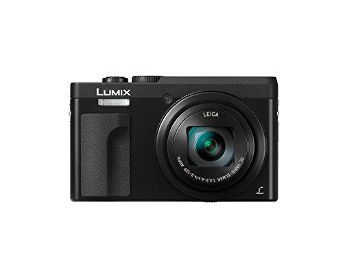 Panasonic DC-TZ90EG-K Fotocamera compatta da viaggio con zoom 30x, funzione Selfie, 4K PHOTO e 4K Video, Nero