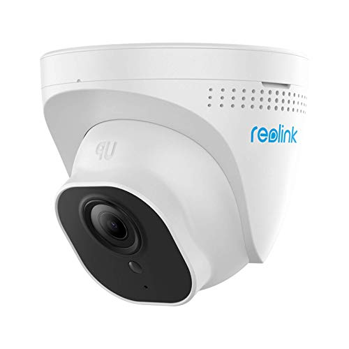 Reolink 5MP Telecamera Poe Esterno Dome Supporto Audio e Slot per Scheda Micro SD, Telecamera IP Esterno Visione Nottura IR 30m, Impermeabile IP66 e Rilevamento Movimento, RLC-520-5MP