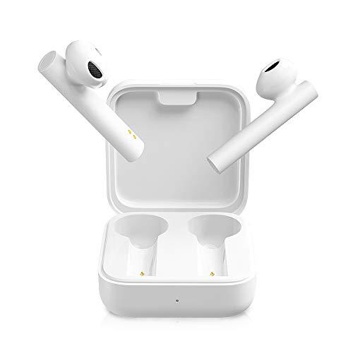 Xiaomi - Mi True Wireless Earphones 2 Basic, Auricolari Wireless Bluetooth, Controllo touch, Bluetooth 5.0, Stereo, Microfono dual, Riduzione del rumore di chiamata, Bianco