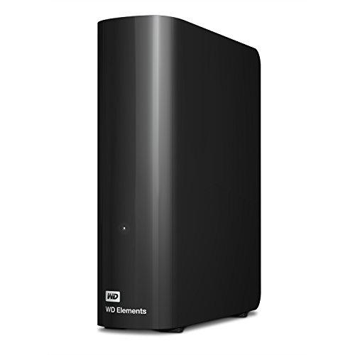 WD 4TB Elements Desktop, Hard Disk Esterno, USB 3.0