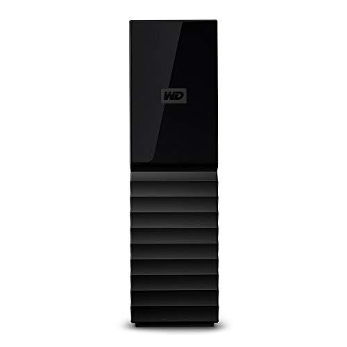 Western Digital WD My Book Hard Disk Desktop USB 3.0 con Protezione Tramite Password e Software di Backup Automatico, Nero, 8 TB