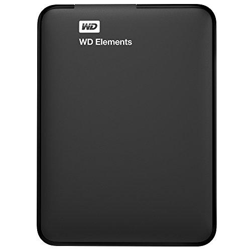 WD Elements Portable 3.0 HDD Esterno, 3.50 Pollici, USB 3.0, 1000 GB, Compatibilità Mac, Nero