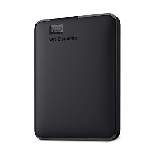 WD 2TB Elements Portable, Hard Disk Esterno Portatile, USB 3.0