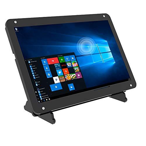 7 pollici Monitor Touchscreen per Raspberry Pi 4,1024 * 600 IPS HDMI Display Portatile Touchscreen con Custodia, Supporto per Raspberry Pi/Windows 7/8/10/PC