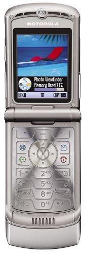 Motorola RAZR V3Telefono Cellulare Clamshell attivo Argento