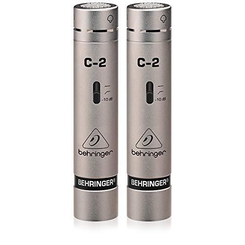 Behringer C-2 Microfoni a condensatore da studio abbinati, Pacco da 2