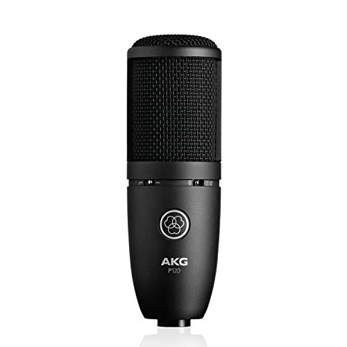 Akg P120 Microfono a Condensatore con Diaframma da 2/3