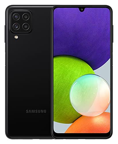 Samsung Galaxy A22 4G Smartphone 6,4 Pollici, Display Infinity-U HD+, Telefono Cellulare Android 11, Tripla fotocamera posteriore, 4GB RAM e 64GB, Batteria 5.000 mAh, Black [Versione Italiana] 2021