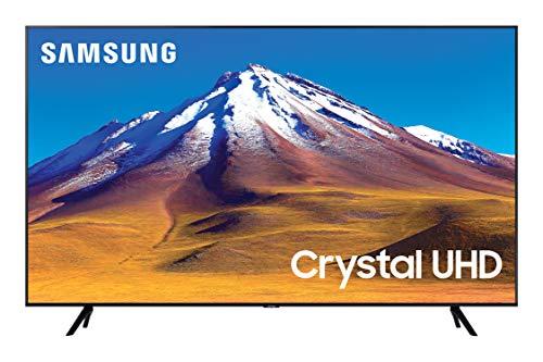 "Samsung TV TU7090 Smart TV 55"", Crystal UHD 4K, Wi-Fi, Black, 2020, compatibile con Alexa"