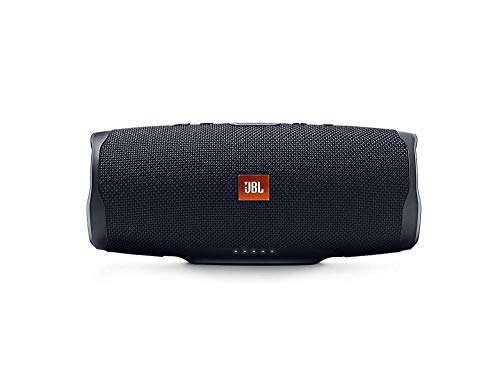 JBL Charge 4 Speaker Bluetooth Portatile – Cassa Altoparlante Bluetooth Waterproof IPX7 – Con Microfono, Porta USB, JBL Connect+ e Bass Radiator, Fino a 20h di Autonomia, Nero