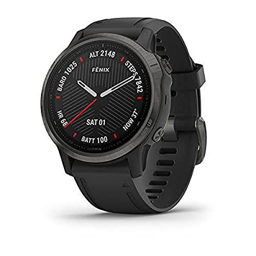 Orologio Garmin Fenix 6S Sapphire Smartwatch Silicone Nero GPS 42mm 010-02159-25