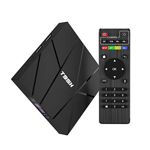 2020 Android Tv Box 10.0, T95H 1 GB RAM 8 GB ROM Allwinner H616 Quad-Core Smartbox 64-Bit, Supporto 6K, H.265, 3D, 2.4G Wifi, 10 / 100M Ethernet, ecc.