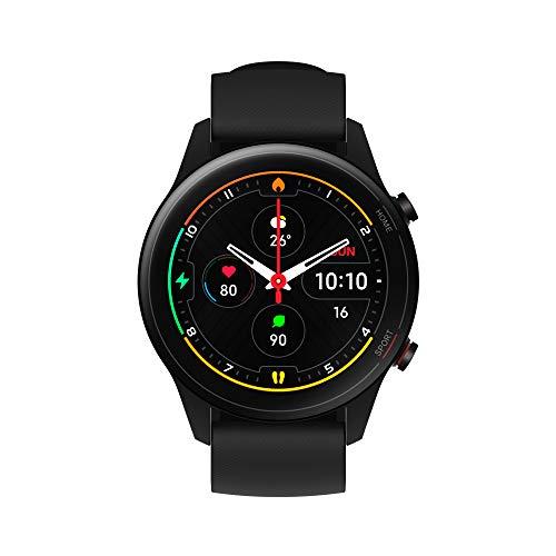 Xiaomi Mi Watch, Orologio Smart, Display AMOLED HD 1.39'', Fino a 16 giorni di autonomia, GPS integrato, NERO