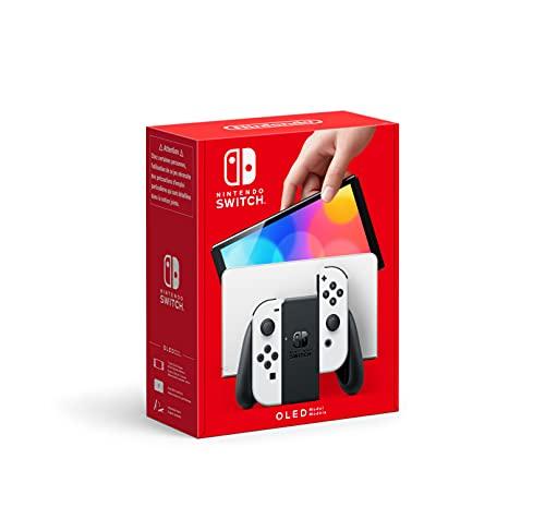 Nintendo Switch (Modello OLED), Bianco/Nero
