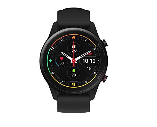 Xiaomi Mi Watch, Orologio Smart, Display AMOLED HD 1.39'', Fino a 16 giorni di autonomia, GPS integrato, 117 modalità fitness, NERO, Versione italiana
