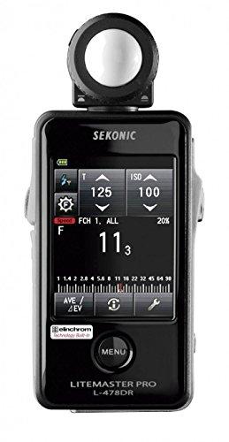 Sekonic-Fotometro SK011765 L-478DR-, nero