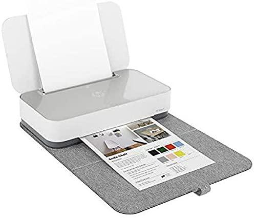 HP Tango X 3DP65B Stampante Smart A4 con Cover, Stampa, Fotocopia e Scansiona da Dispositivi Mobile, Wifi, Wi-Fi Dual Band, HP Smart, 2 Mesi di Servizio Instant Ink Inclusi nel prezzo, Bianco