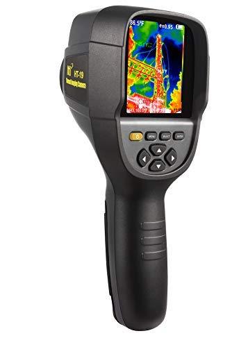 Nuova termocamera ad infrarossi per imaging termico ad alta risoluzione 320 x 240. Modello HTI-19 con 300.000 pixel migliorati, schermo da 3.2