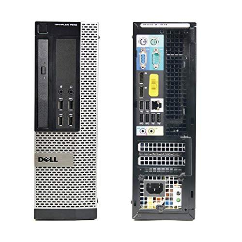 Dell Computer OptiPlex 7010 SFF, Intel Core i5 3.20 GHz, 8 GB DDR3, 240 GB SSD, masterizzatore DVD, Windows 10 Home 64bit (Ricondizionato)