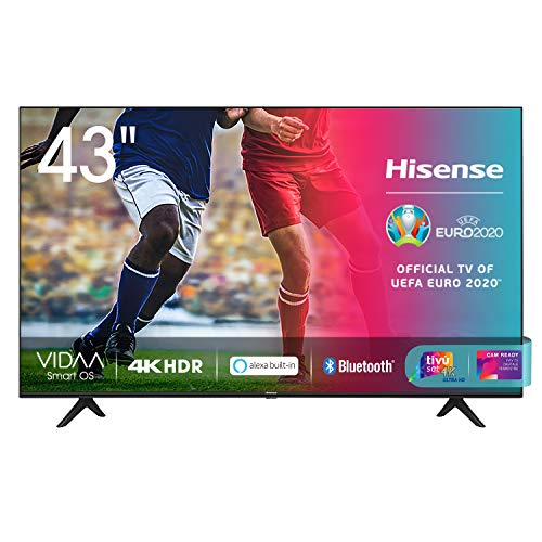 Hisense 43AE7000F, Smart TV LED Ultra HD 4K 43