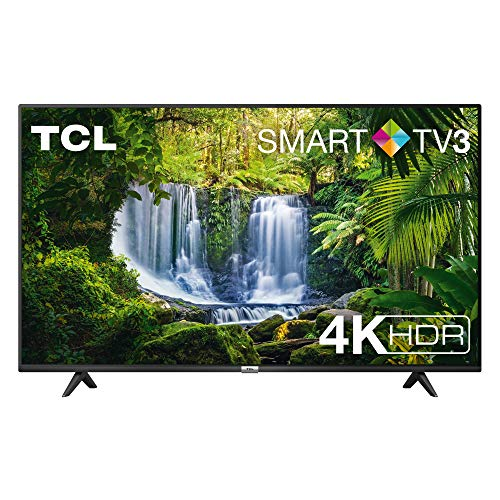 TV TCL 55P611 55 pollici, 4K HDR, Ultra HD, Smart TV 3.0 (Micro dimming PRO, Smart HDR, Dolby Audio, T-Cast)
