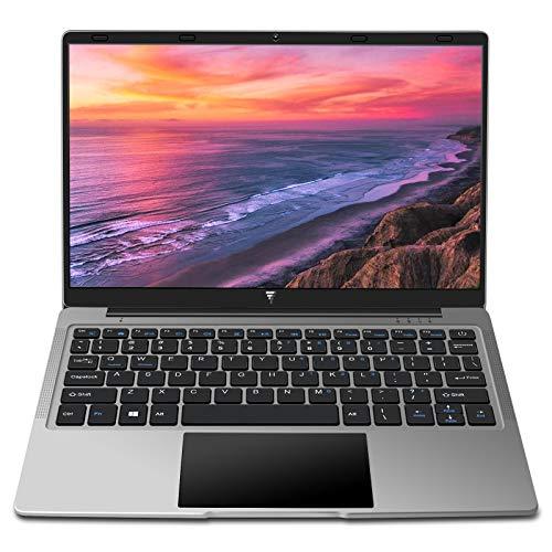 Portatile Laptop 14,1 Pollici 6GB RAM Windows 10 MEBERRY Notebook PC, 64GB SSD   128GB Espandibili   HDMI   Bluetooth 4.0   Aux 3.5mm   USB 3.0 / 2.0, Corpo in Metallo Grigio(Tastiera con layout US)