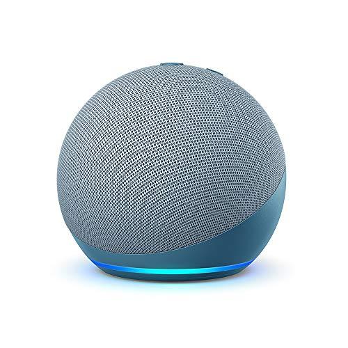 Echo Dot (4ª generazione), Ricondizionato Certificato, Ceruleo   Altoparlante intelligente con Alexa